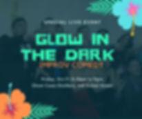 GLOW in the dark improv show Savannah