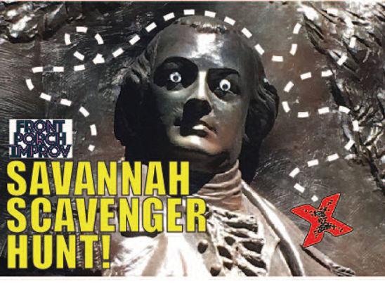 Scavengr Hunt around Savannah
