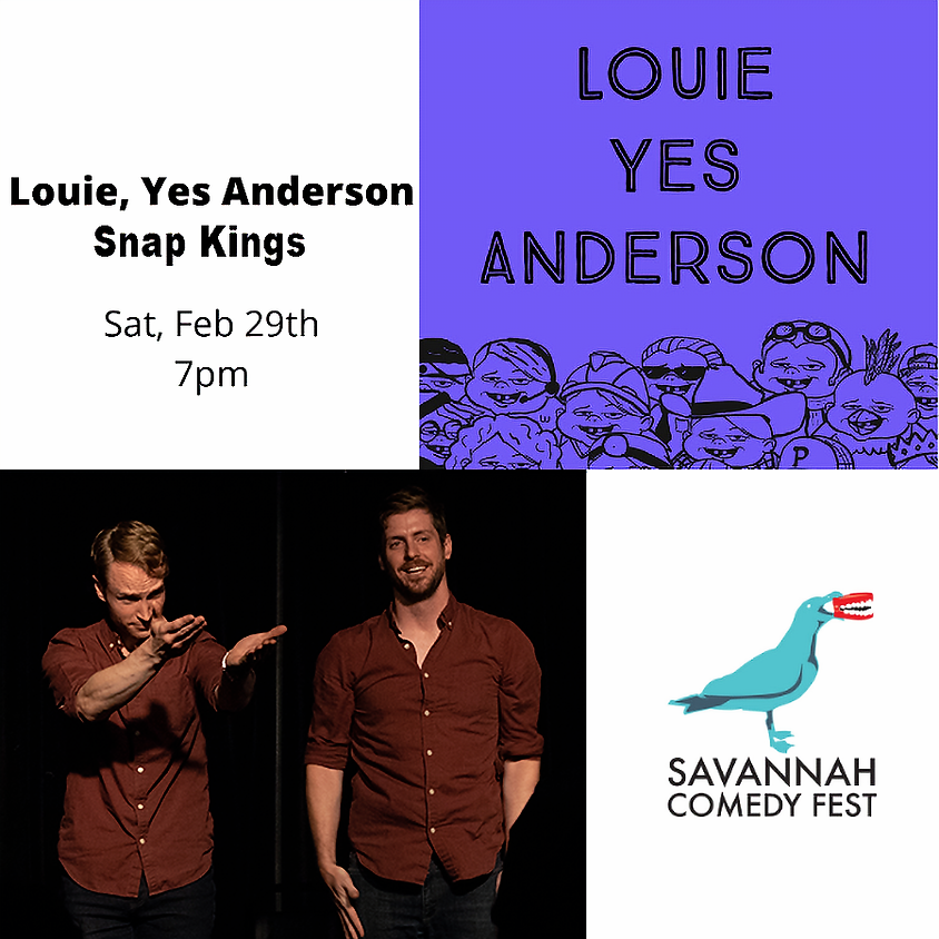 SAV Comedy Fest   Saturday @ 7pm