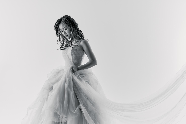 カラーウエディングドレス