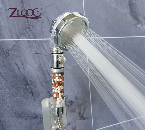 Eco Shower Head High Pressure  Mineral Filter