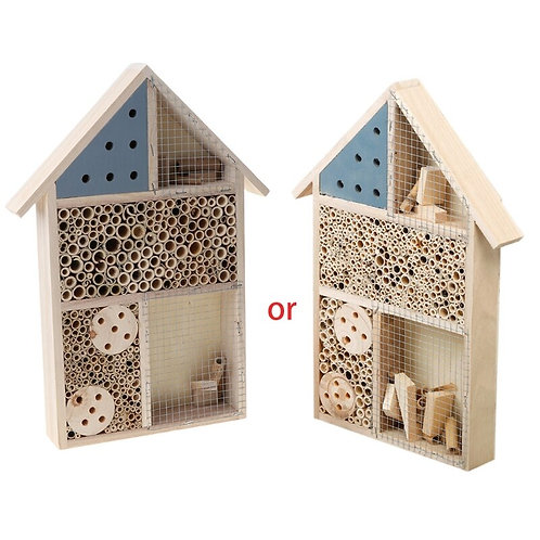 Wooden Insect House Hotel Bee Hive Habitat for Ladybugs Ladybirds Lacewings
