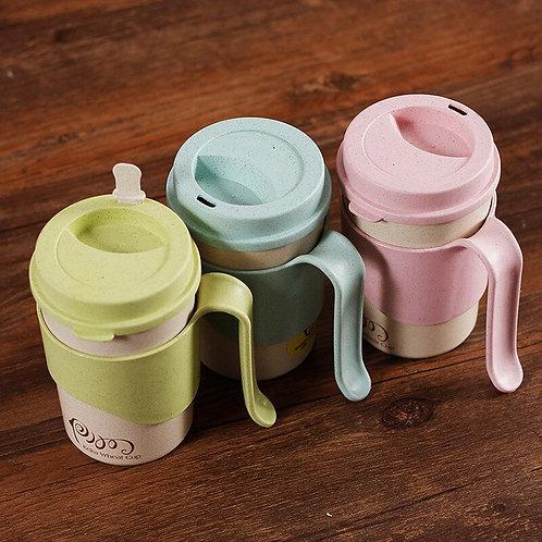 450ml  Rice Husk Fibre Coffee Cups