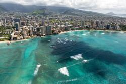 Oahu, via Helicopter