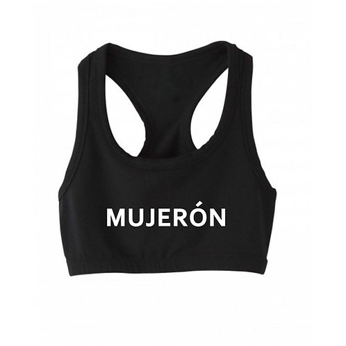 "MUJERÓN ""Campeona"" Sports Bra"