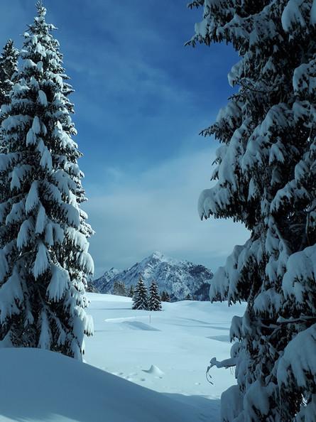 Winterwanderung mit Ausblick