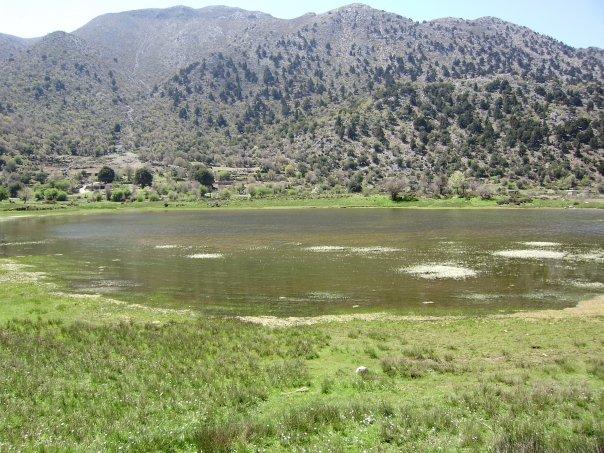 Omalos Lake