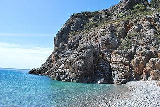 Ancient Lissos Beach