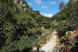 Part of Agia Irini Gorge