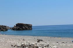 The rock of Sougia