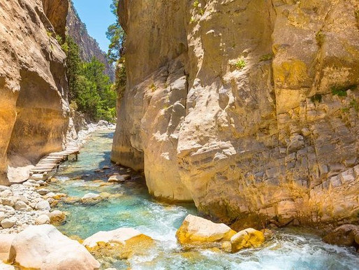 Samaria Gorge is finally open!