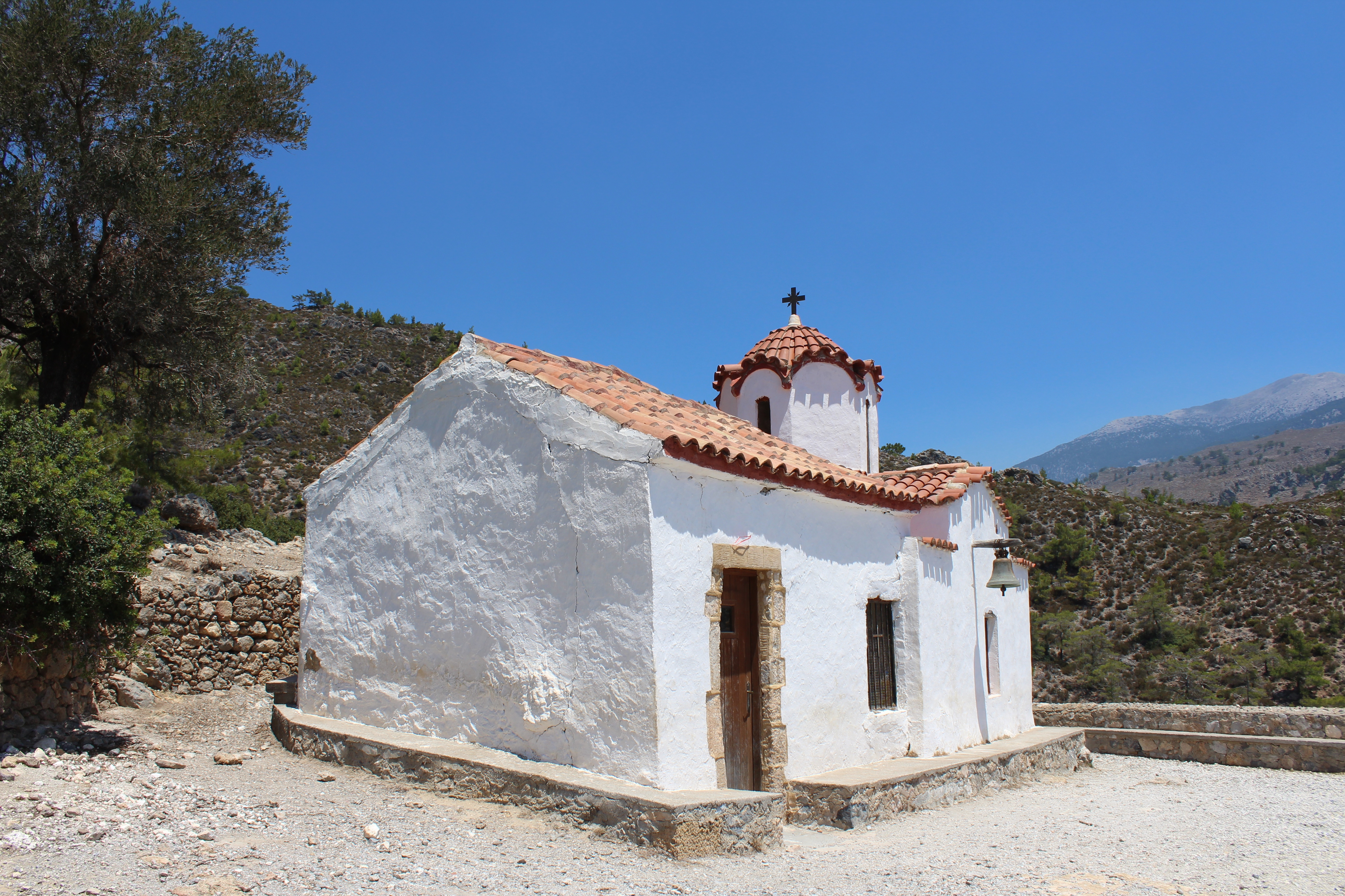 Agia Irini Church in Sougia