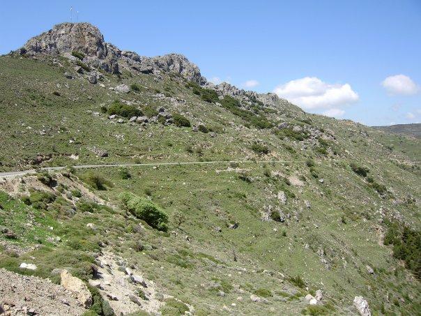 Mountains near Temenia