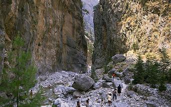 The Gates of Samaria Gorge