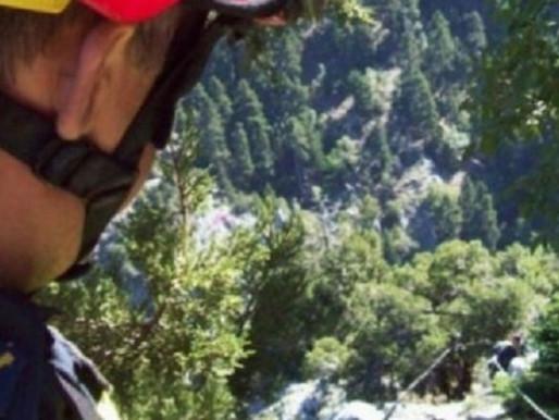 German Tourist was injured in a Trail