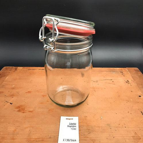 Bügelglas   1 Liter