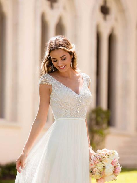 Stella York Boho Wedding Dress