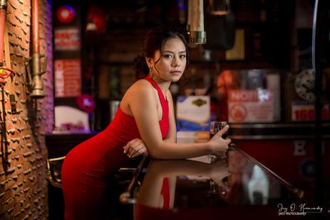 Jay O. Hernandez 'Lady in Red'