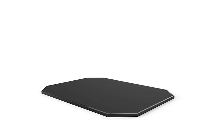 Stand-Alone Solid Rubber Surface Platform