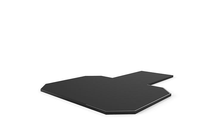 Solid Rubber Surface Platform
