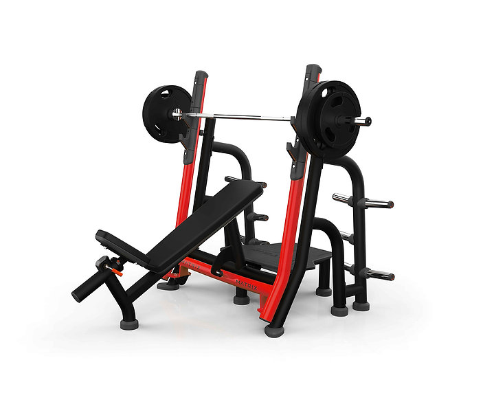 Magnum Breaker Olympic Incline Bench