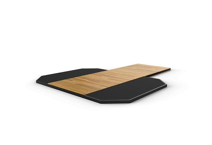 Rubber Platform w/ Hardwood Insert | Power