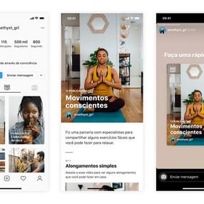 """Instagram lança aba """"Guias"""" no perfil"""