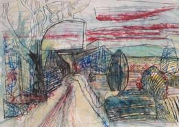 Working landscape drawings...