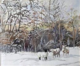 Sublime winter landscape...