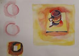 Watercolour exercises...