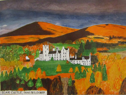 A Scottish Castle sent in by one of my students.