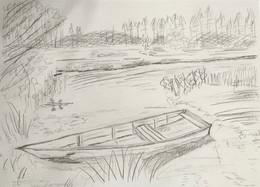 Lovely early boat study...