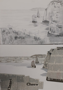 Tuesday's coast collages...