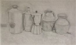 Morandi influenced still -life...