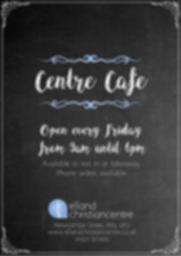 Centre Cafe menu