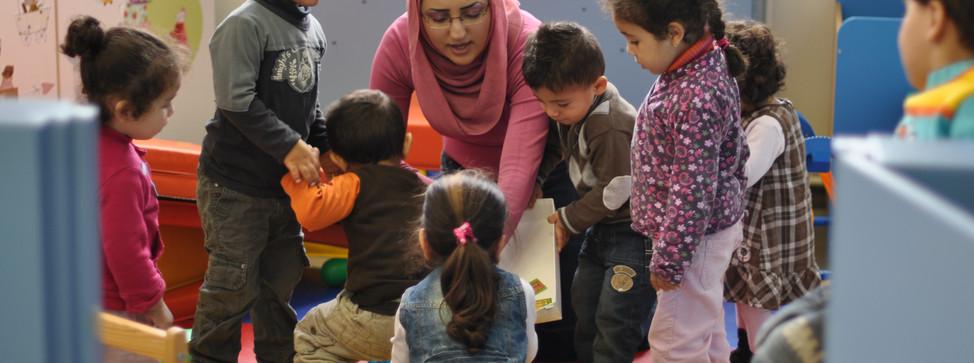 De SLOEP vzw is een open huis voor jonge gezinnen.