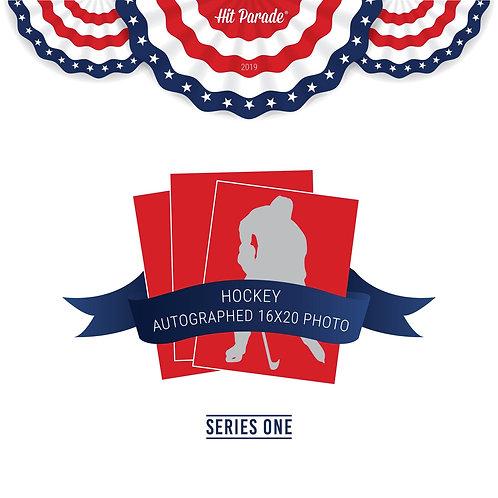 Hockey Autographed 16x20 Photo Hobby Box