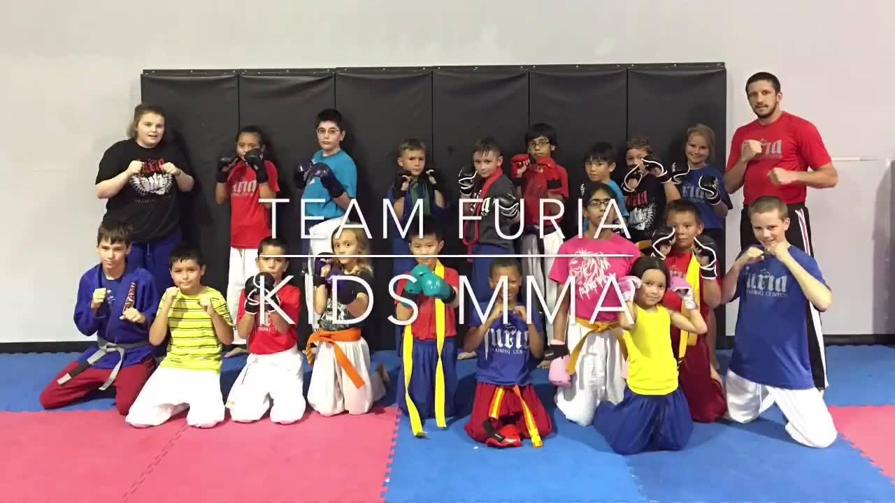 Team Furia - Kids MMA