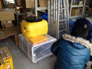 綾川町役場様に災害対策用造水機を納品