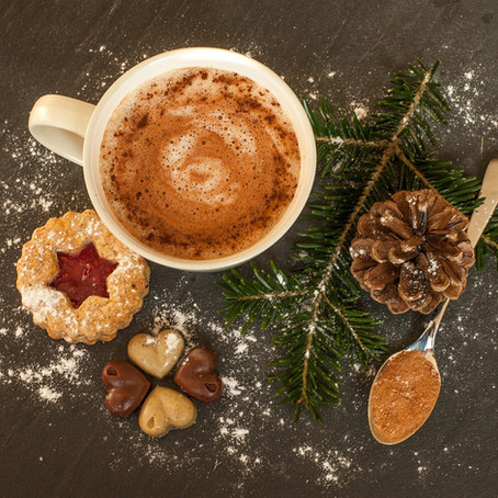 Cioccolata calda senza lattosio, senza glutine, vegan e paleo