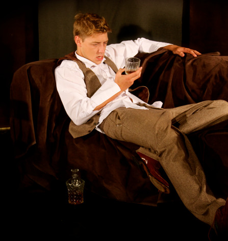 Leonard Marlowe (Josh Taylor) in Coward - UK Tour And Off West End Production
