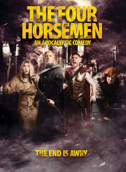 The Four Horsemen 2020 Tour Poster