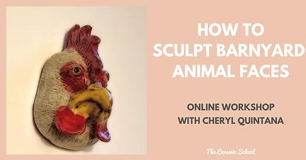 Sculpt Animal Faces with Cheryl Quintana