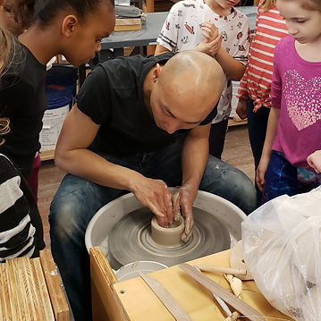 clay birthday party class
