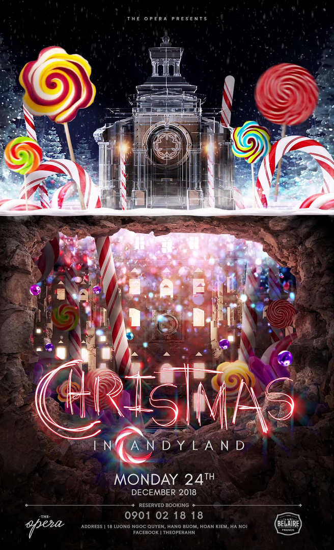 TheOpera-Christmas in candyland-Poster-A
