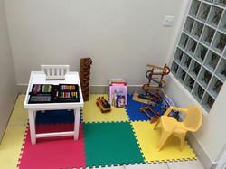 Área de espera infantil
