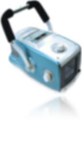 Raio x portátil à bateria ideal para atendimento à distância