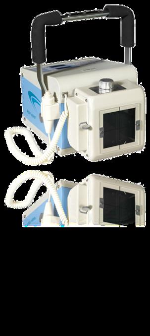 Equipamento de raio x leve, compacto, de alta performance