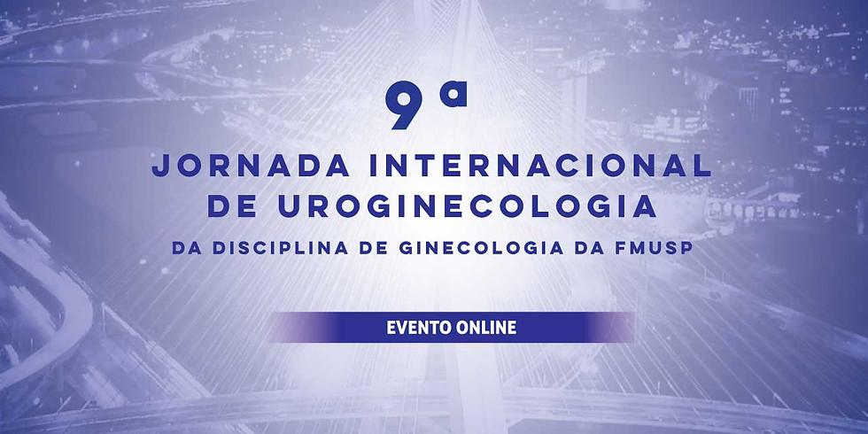 9ª Jornada Internacional de Uroginecologia da Disciplina de Ginecologia da FMUSP