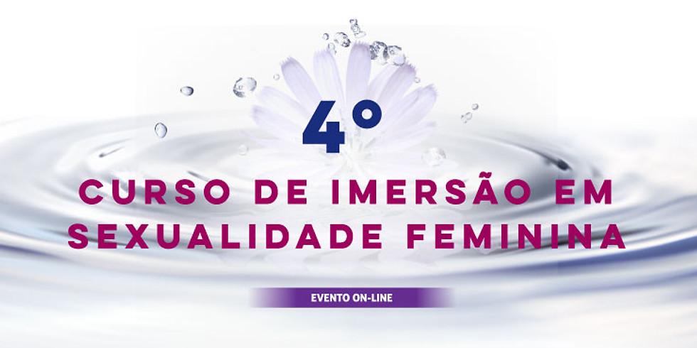 4º Curso de Imersão em Sexualidade Feminina